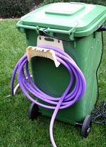 Wash and Water grey water recycling wheelie bin                                                                                                                                                                                 More