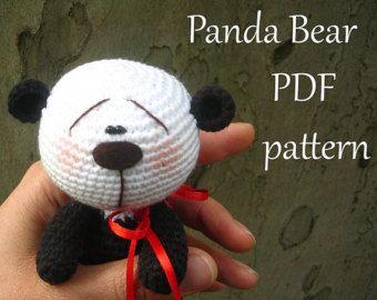 Amigurumi Panda Bear Crochet Pattern : Best haken dieren images amigurumi doll