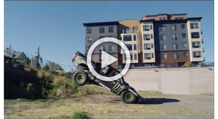 Recoil 3: Badass in a trophy truck does badass things!