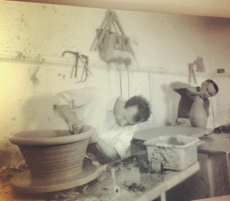 """Photo in Art Design Room.  Vecchi mestieri/old crafts: """"Clay Worked"""".   Photographer:Tomassini Gianfranco"""