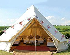Himalaya Bell Tent Stand Canvas Mongolian Yurts Outdoor Hotel Indian Luxury 8-12 Person Tent Perfect for Sel-draving Travel