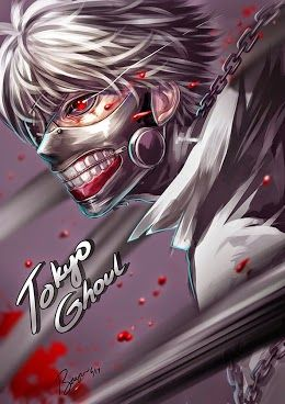 Download Anime : Tokyo Ghoul