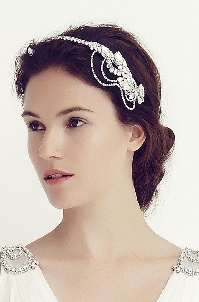 Candela Bridal Headdress I Crystal Opal