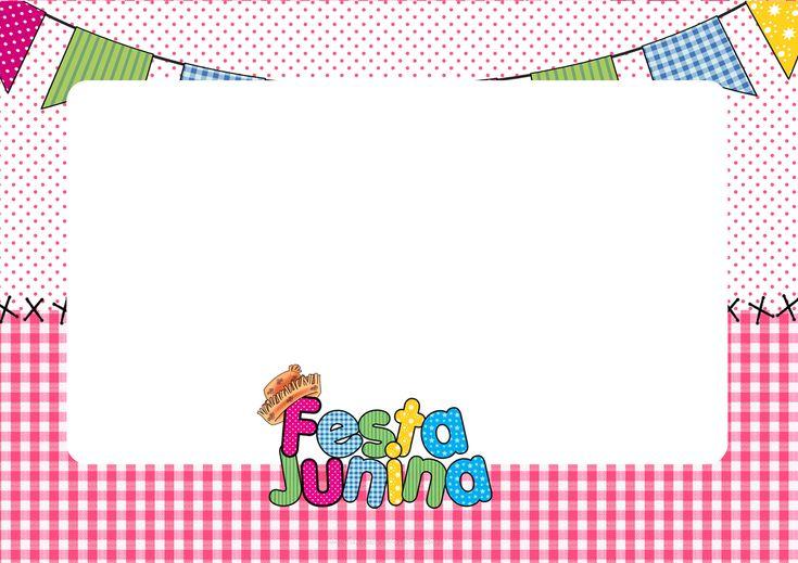 Convite para Festa Junina