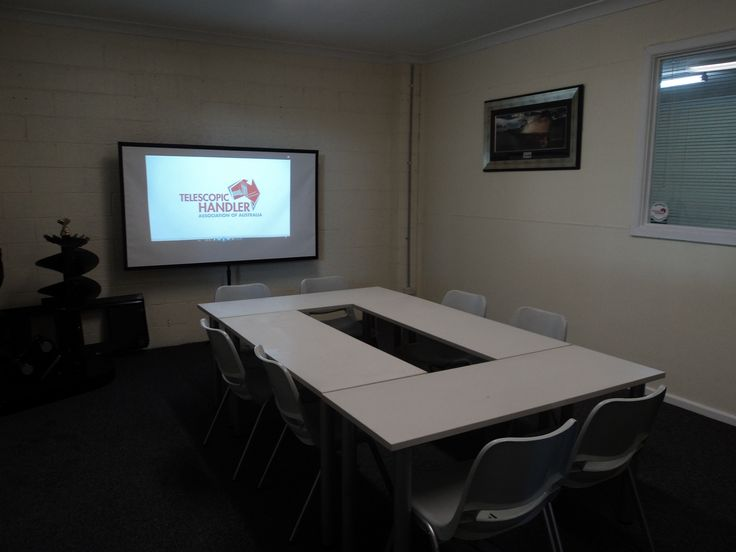 Our new training room is now ready. Call today to book in for your Telehandler Gold Card Course 1300 300 605