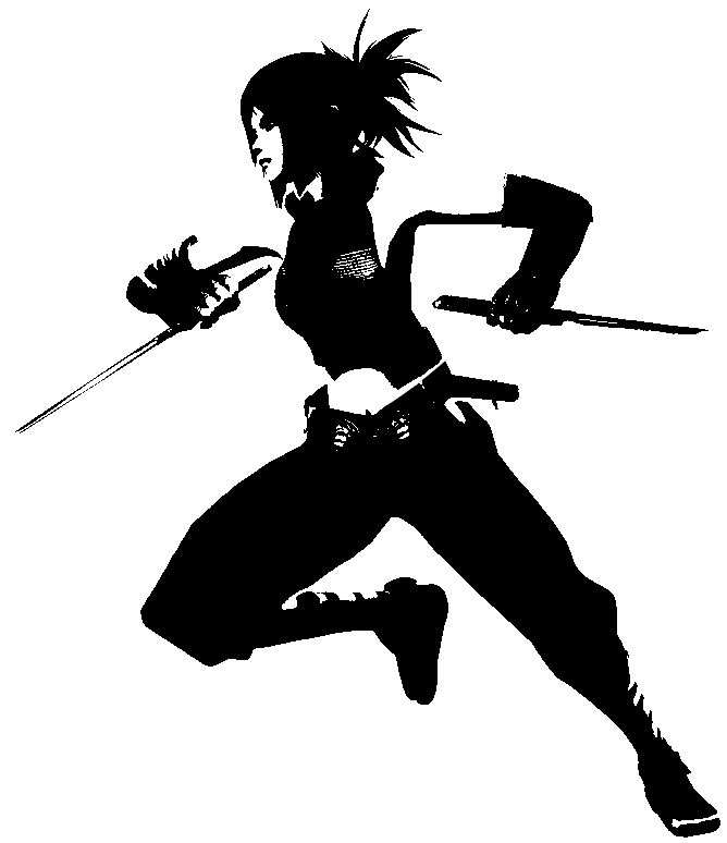 ninja girl- that's me. haha :) no really.