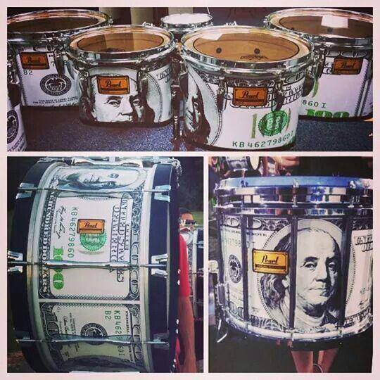 Benjamins drums wrap