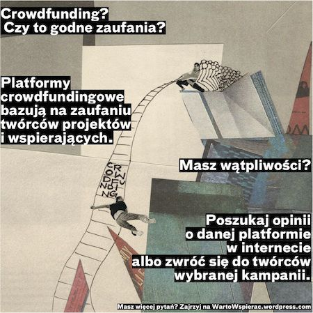 Blog i poradnik o croudfundingu wartwspierac.wordpress.com
