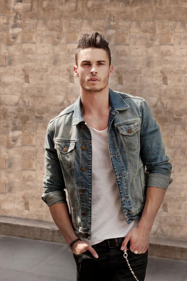 Fit is everything.  This is how to wear a denim jacket.