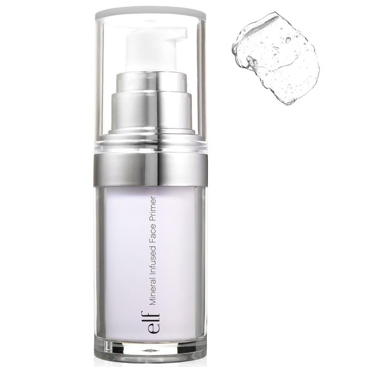 E.L.F. Cosmetics, Mineral Infused Face Primer, Clear, 0.49 oz (14 g)