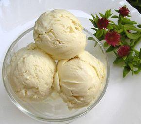Домашнее мороженое без сливок