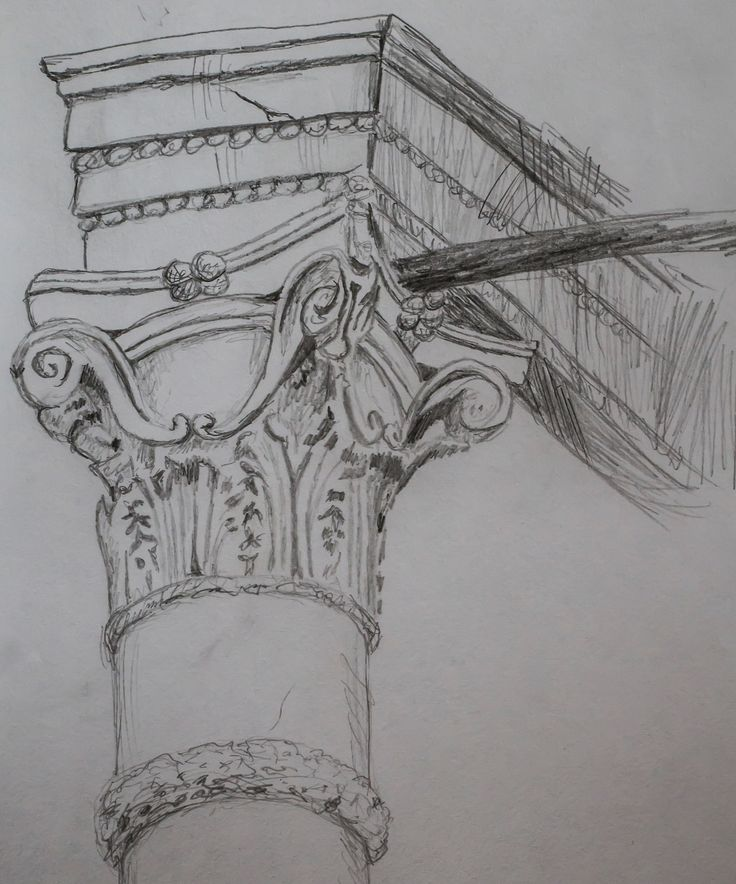column drawing