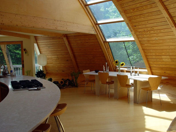 Interior of Geo Dome Home  Home Sweet Home  Pinterest