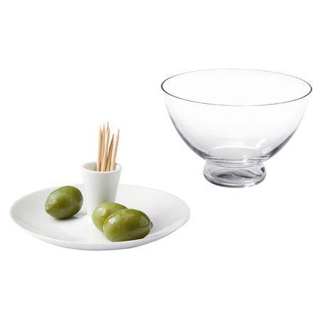 Found it at AllModern - 2 Piece Porcelain & Glass Olive Dish Condiment Server Set http://www.allmodern.com/deals-and-design-ideas/p/The-Scandinavian-Style-Shop-2-Piece-Porcelain-%26-Glass-Olive-Dish-Condiment-Server-Set~GOX1032~E22388.html?refid=SBP.rBAZEVW_nJgU91bfwAcaAsxkE6U1ekNSnuYVkc__rOQ