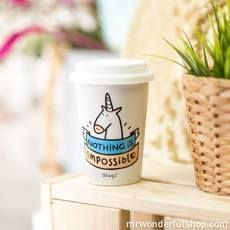 Tazza take away Mr. Wonderful #tazza #takeaway #mrwonderful #bullacarpaneto #lifestyle #shoponline #unicorn