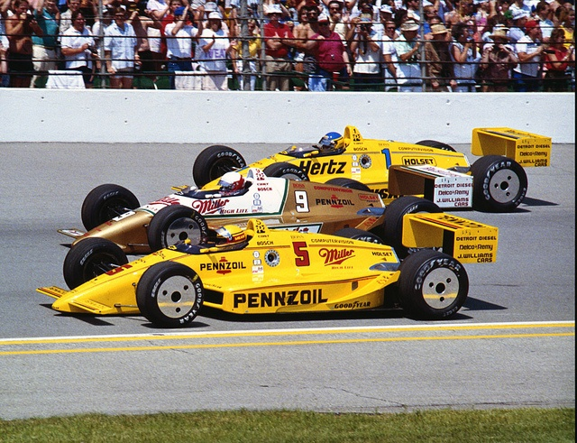 1988 Indy 500- All Penske Front Row by indianapolismotorspeedway.com, via Flickr