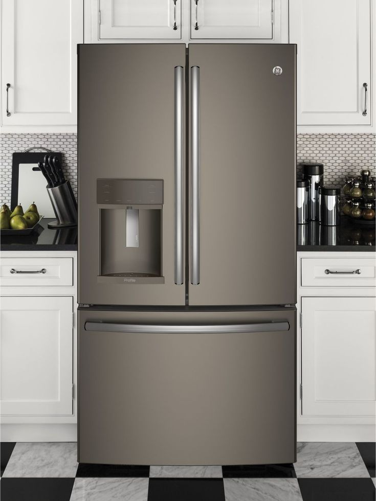 GE Profile PFE28KMKES 27.8 Cu. Ft. Slate French Door Refrigerator   Energy  Star