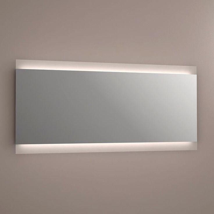 Miroir lumineux LED salle de bain, anti-buée, 150x70 cm, Idlight Parallel