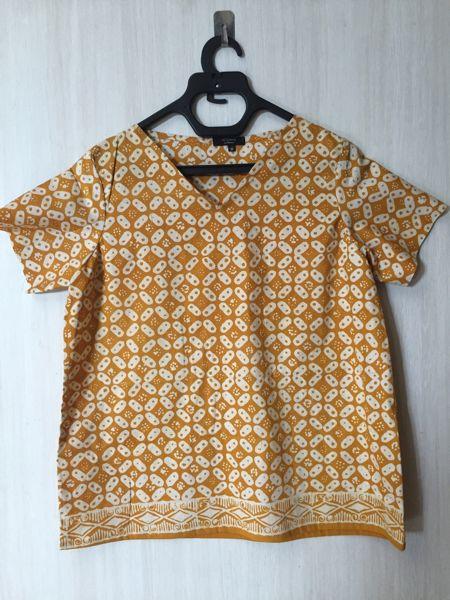 Jual blouse batik garutan - Manggo Shop | Tokopedia