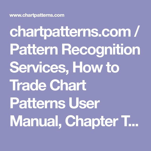 chartpatterns.com / Pattern Recognition Services, How to Trade Chart Patterns User Manual, Chapter Two