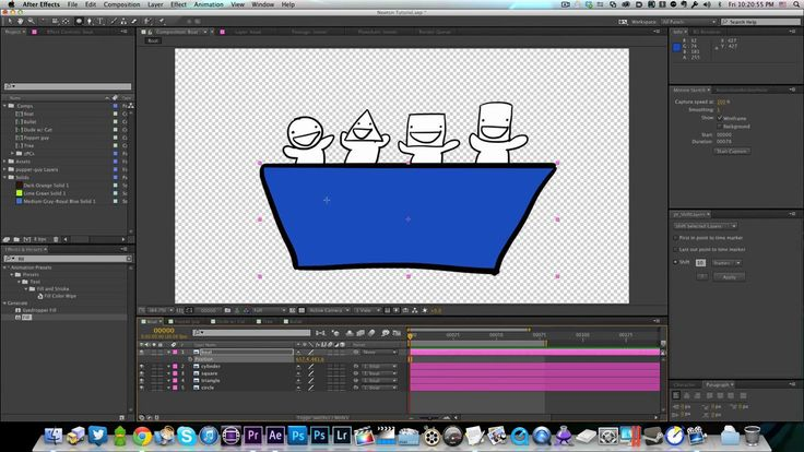 Techniques for Using Newton Physics in After Effects Character Animation