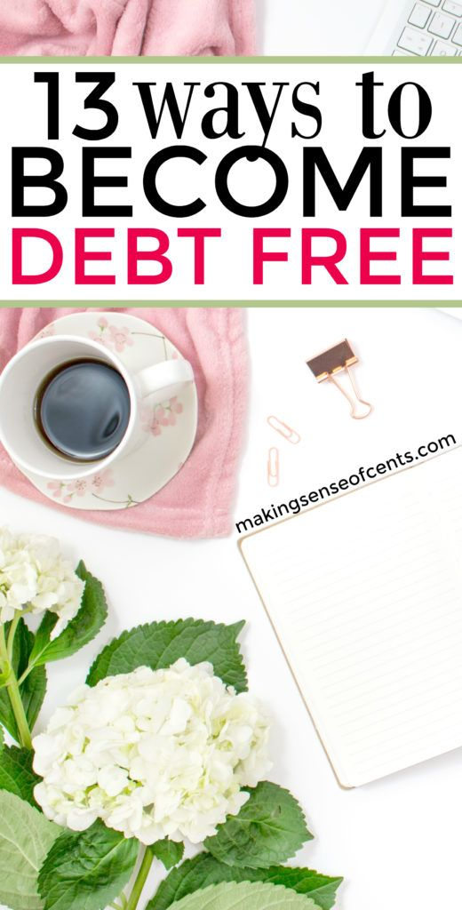 The average person has a lot of debt and due to that, we are currently in a personal debt crisis. However, you should start living debt free ASAP!