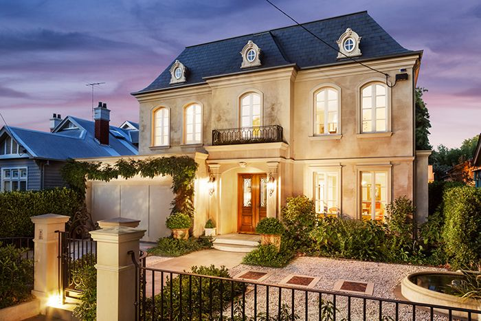 French chateau exterior curved windows google search for French chateau exterior design