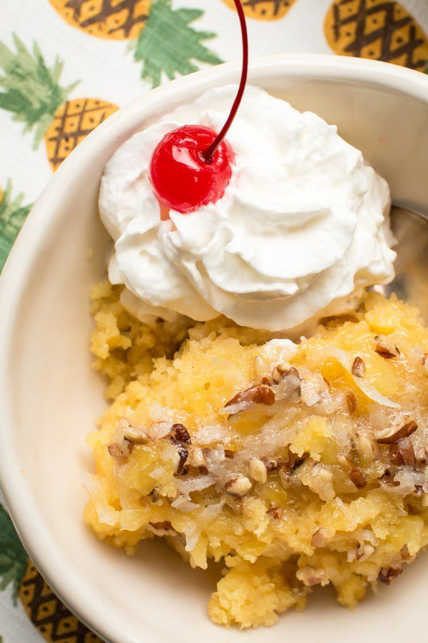 Pineapple Poke Cake Food Network