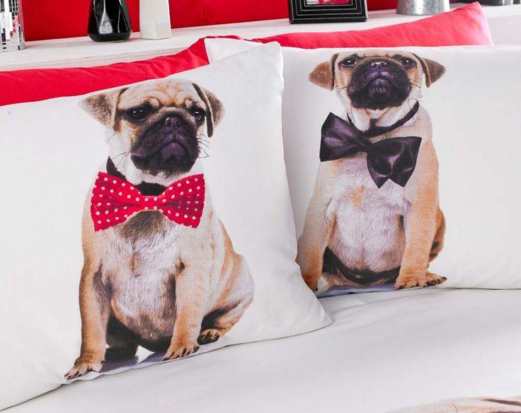 Buy Pug Duvet Set - Single From K-Life. Your online shop for Bedroom http://www.klife.co.uk/distributors/699/MRS-SYLVIA-LAING?returnUrl=/checkout/basket%3Fsku=766070