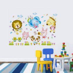 Funny cartoons!  Lejon, elefanter, giraffer, pandor, you name it! Sätt liv på tillvaron med detta djur väggdekor, det är du värd! Förutom motivet är storleken väldigt iögonfallande.  Länk till produkt: http://www.feelhome.se/produkt/funny-cartoons/  #Homedecoration #art #interior #design #Walldecor #väggdekor #interiordesign #Vardagsrum #Kontor #Modernt #vägg #inredning #inredningstips #heminredning #natur #safari #barn #barnrum #barninredning #lejon #elefant
