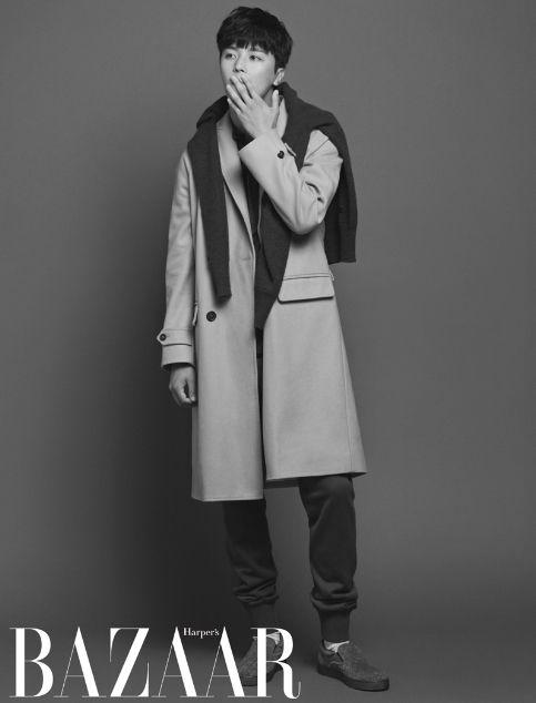 Yeon Woo Jin     Actor, Model. Harper's Bazaar October 2014.