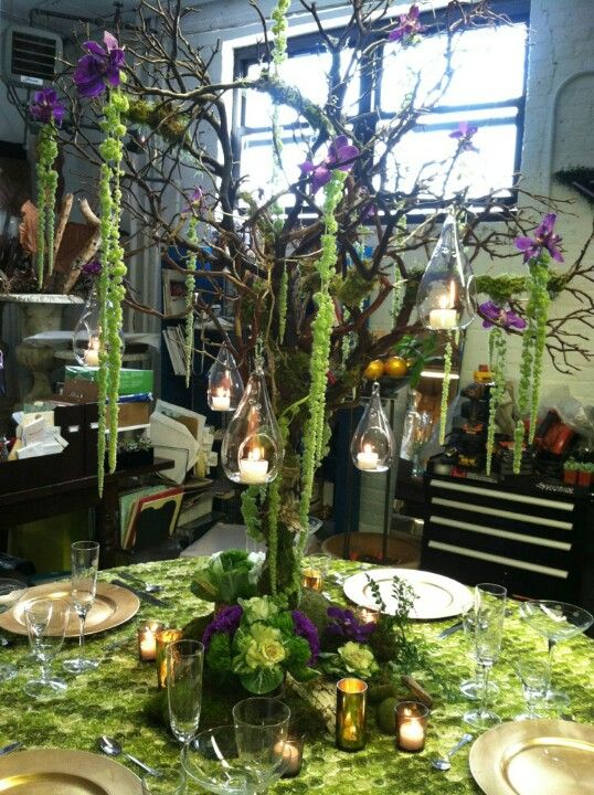 10 Ways To Decorate With Green Moss: Twilight Of Your Life Wedding