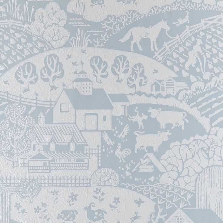 I rarely write posts about just one Design but this breathtaking new Gable wallpaper from Farrow and Ball has to be an exception