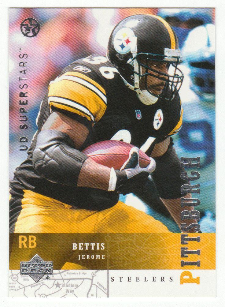 Jerome Bettis # 195 - 2002-03 Upper Deck Superstars Multi Sports Card - NFL Football