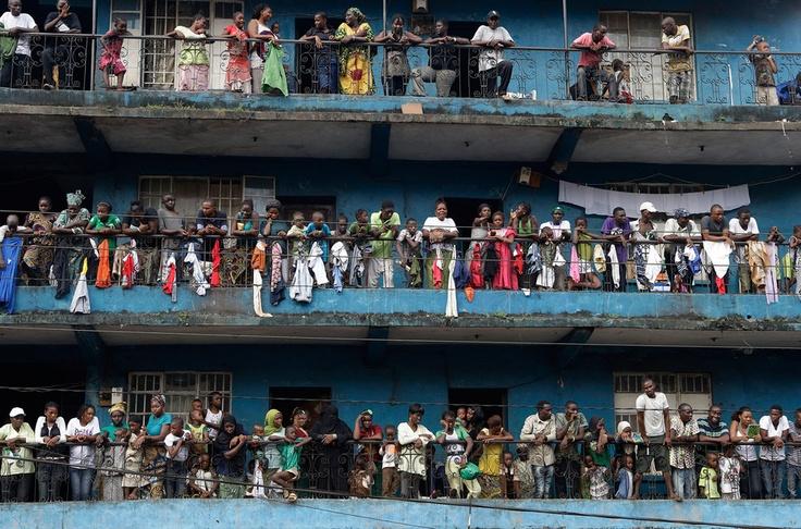 People in Sierra Leone, Freetown