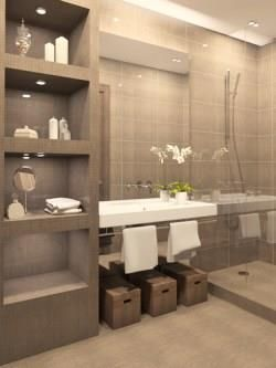 how to create the hotel bathroom look