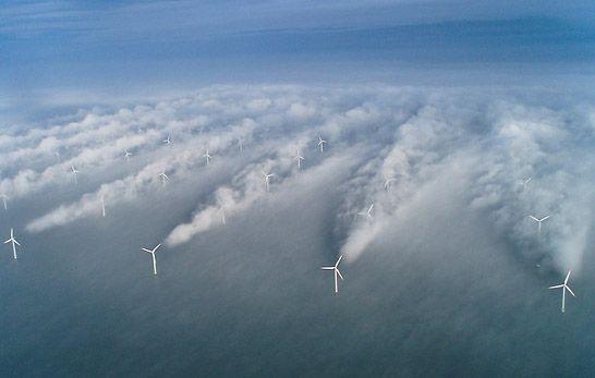 wind farms uk map - Google Search