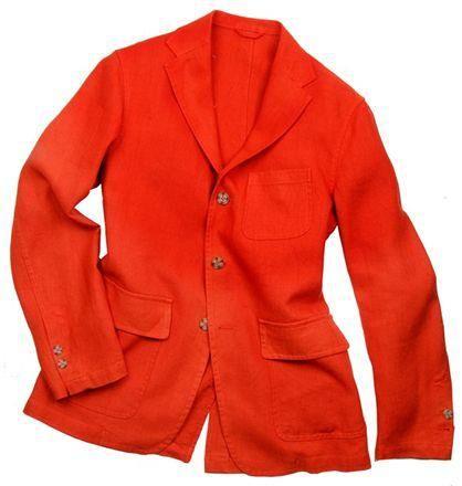 """Veste """"SLACK"""" style IVY League, 3 boutons, poches plaquées à rabat, 1 fente milieu dos / IVY League """"SLACK"""" jacket, unlined, 3 buttons, patch pockets with flaps, 1 vent #menswear #jkeydge #slackjacket #slackmania #ivyleague #cool #casualchic #chino #jeans"""