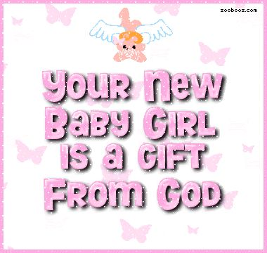 Best 25 congrats images on pinterest happy birthday greetings your new baby girl is a gift from god pregnancy pink baby congratulations baby girl new baby its a girl gift from god m4hsunfo