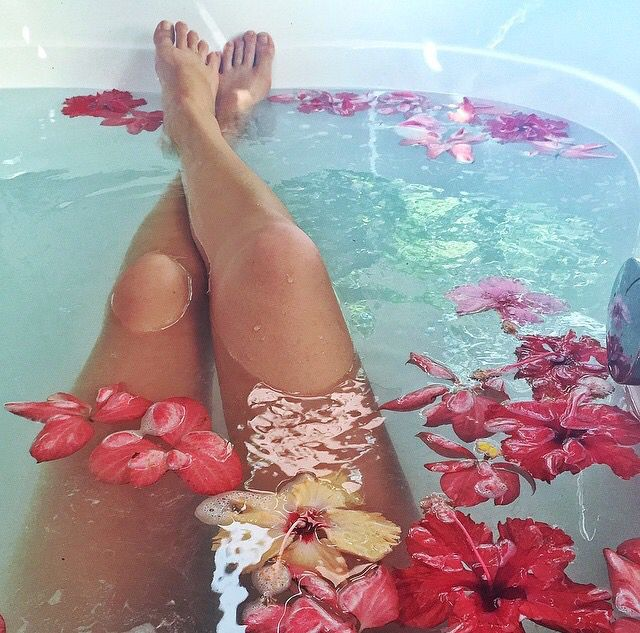#Bathing in flowers (alexleatherr) ~ETS
