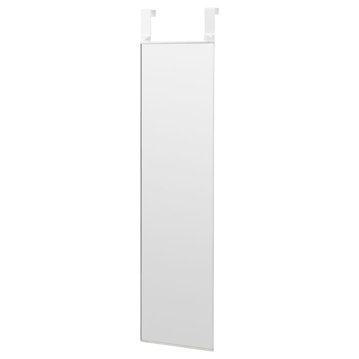 IKEA - GARNES, Over-the-door mirror, , Out of wall space? Don't worry, this mirror hangs on your door.Suitable for use in most rooms, and tested and approved for bathroom use.Provided with safety film - reduces damage if glass is broken.