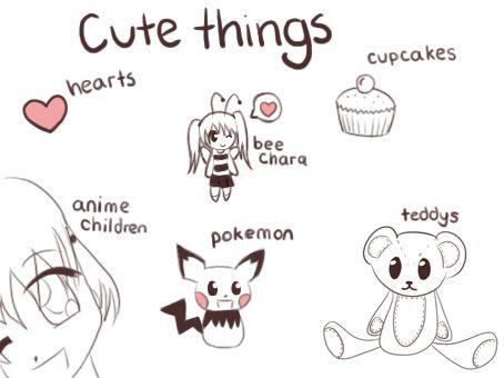 Cute random things google search sayings pinterest for Random cute drawings