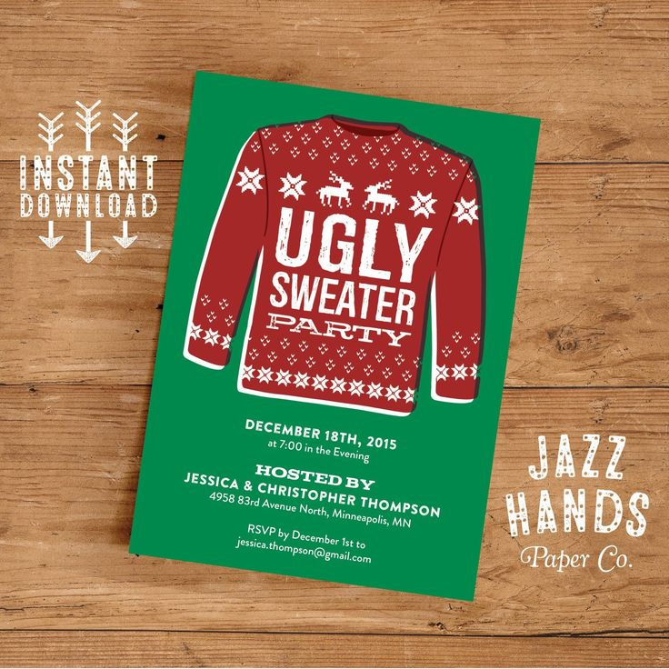 7 best Holiday Party Invitations images on Pinterest | Christmas ...