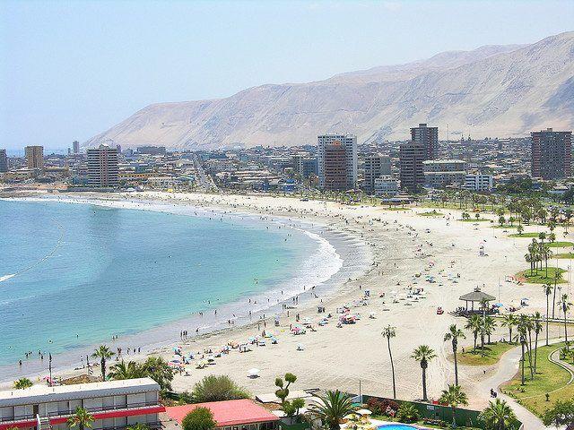 Playa Cavancha Iquique Playas De Iquique Fotos De Chile Vacaciones En Chile
