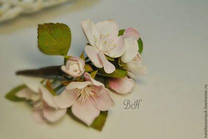 Мастер-класс яблоневое соцветие из фоамирана - мастер-класс,цветы,цветы ручной работы