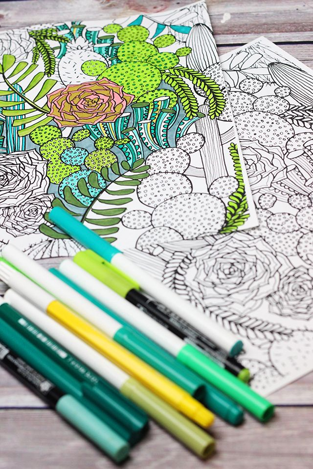 97 best Adult Coloring images on Pinterest | Coloring pages, Adult ...