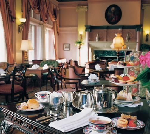 High Tea - Empress Hotel, Victoria, BC, Canada ~ A lovely thing to do!