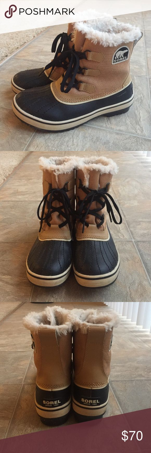 Waterproof Sorel Snow Boot Hardly ever worn, great condition! Sorel Shoes Winter & Rain Boots