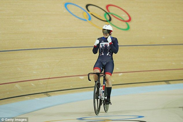 Katy Marchant, who won bronze in the women's sprint, has only been cycling for her country for the past three years