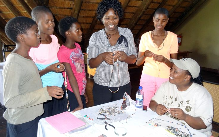 A Beading Workshop hosted by Chobe Safari Lodge
